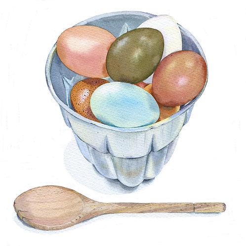 MW12 Blue egg