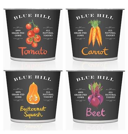 Blue Hill yogurts