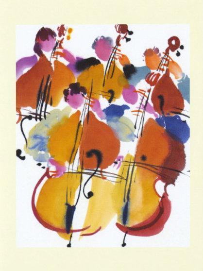 Five basses