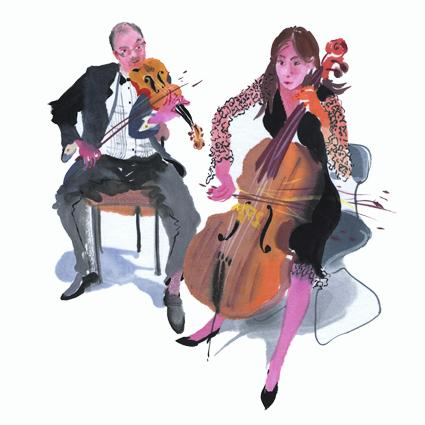 String duet