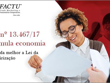 Lei nº 13.467/17 estimula economia
