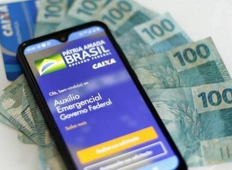 125 milhões de brasileiros estão sendo beneficiados com o auxílio emergencial do governo.