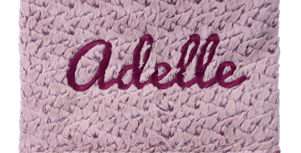 Ainsley Plum Blanket