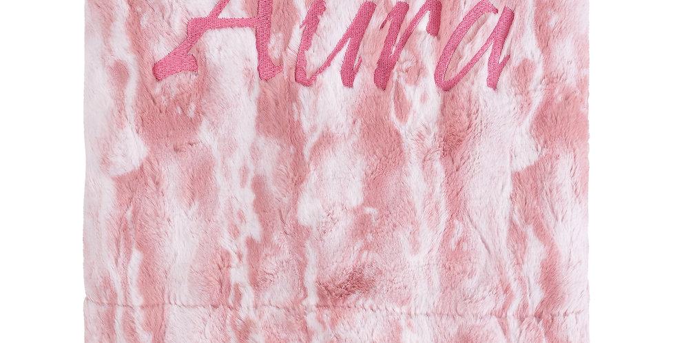 Archie Mauve Blanket