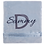 Thumbnail: Blue Minky Blanket with Satin Trim