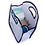 Thumbnail: Wholesale Blue Checked Keyhole Diaper Bag