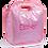Thumbnail: Wholesale Pink Checked Keyhole Diaper Bag
