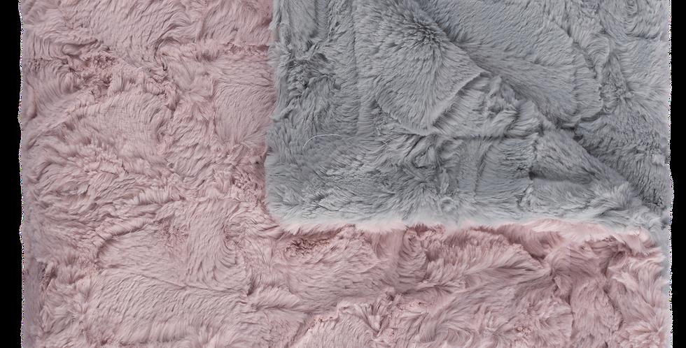 Sophia Silver/Muave Blanket