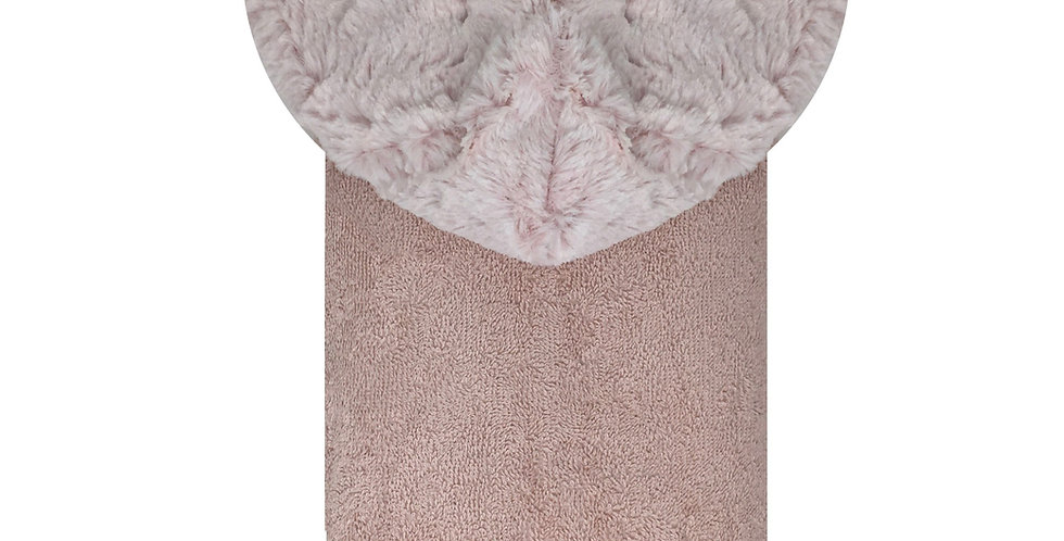 Amelia Pink/White Towel