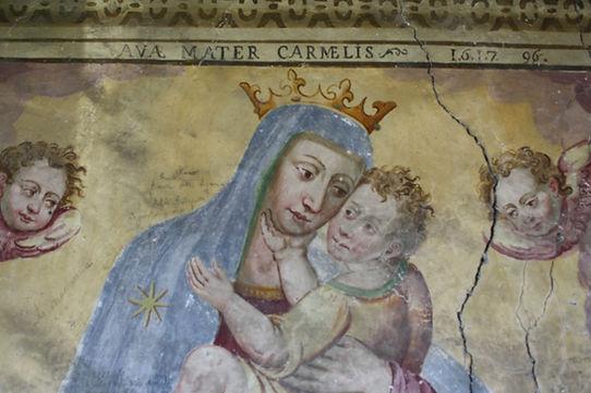 Affresco Madonna del Carmelo