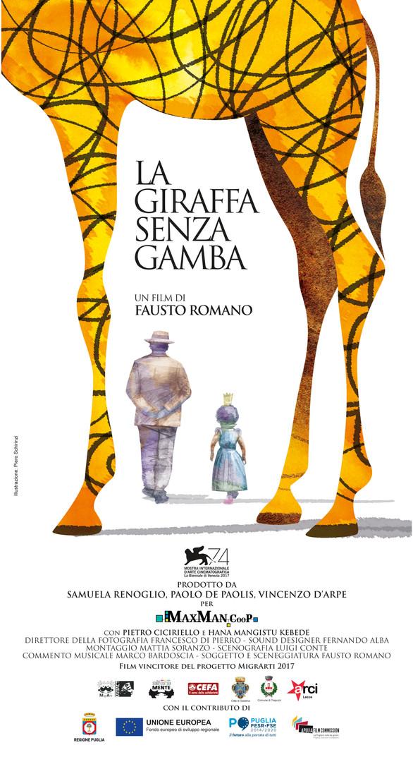 La giraffa senza gamba