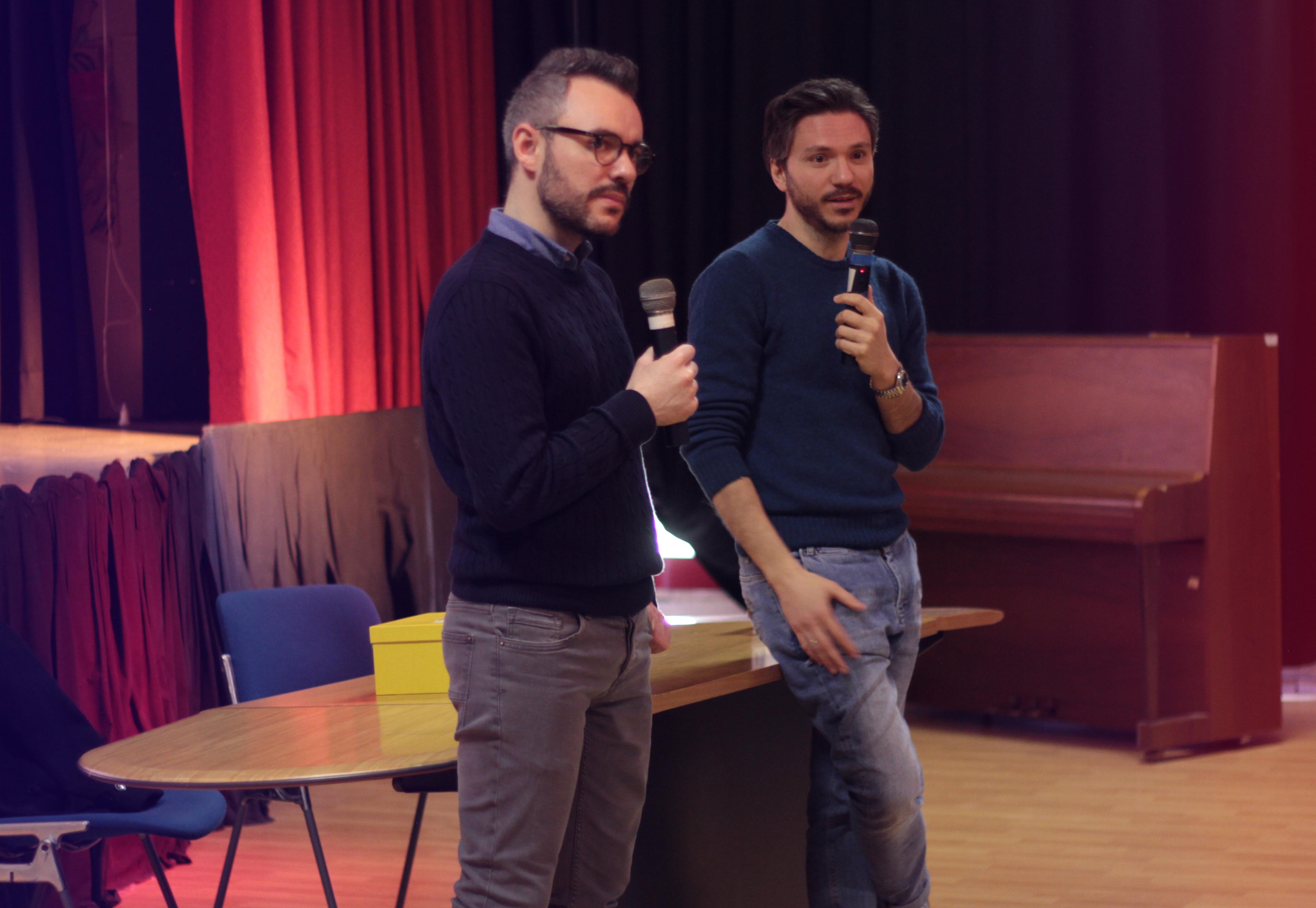 Fabio Sidoti e Giulio Mastromauro