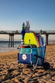 pop beach rentals beach cart rental
