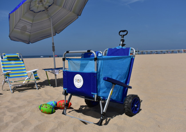 Pop Beach Rentals - Beach Cart rentals makes it easy to get all the gear and your things out on the sand with so much space to fit everything you need $25