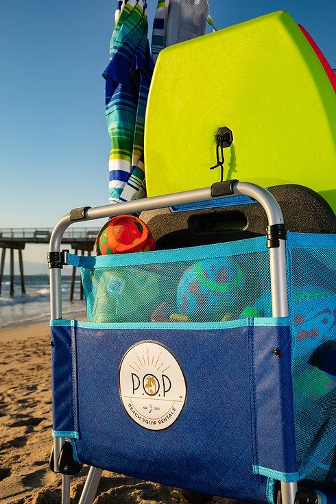 pop beach rentals beach cart rentals
