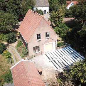 Duofor combinatievloer op stalen liggers ( Schellinkhout)