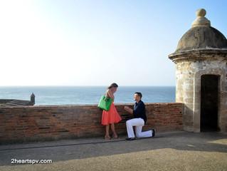 Heartwarming Proposal in Old San Juan