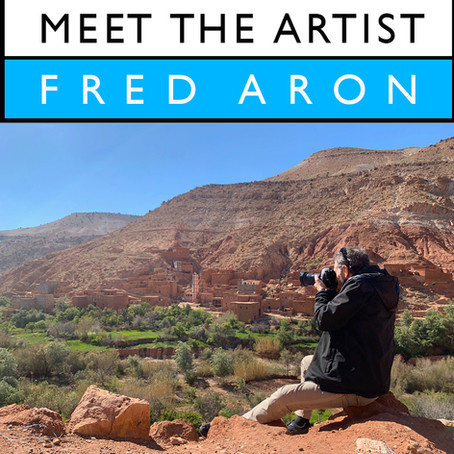 Meet the Artist Interview Series - Fred Aron