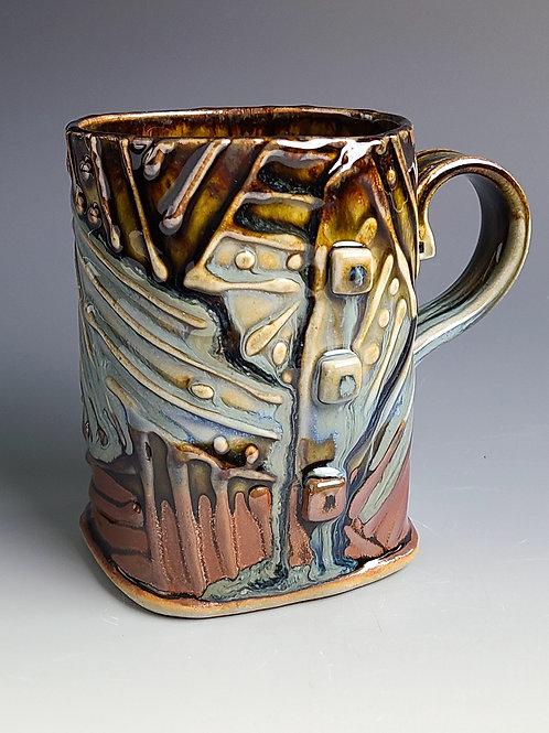 Mug with a Nod to Jasper Johns