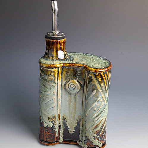 Oil Can With a Nod to Jasper Johns