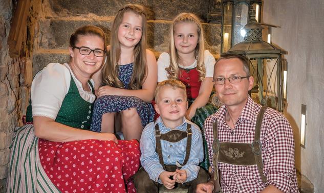 Familie Meyr Eva und Reinhart