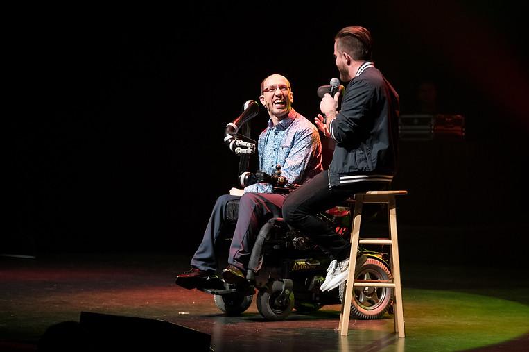 Seb Show - Sébastien Lepage et Dave Morgan
