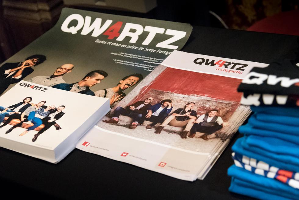 Qw4rtz - Lancement d'album