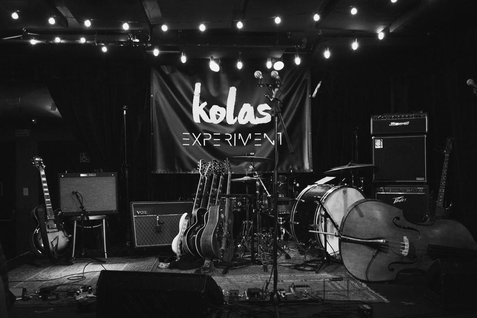 Kolas Experiment - Lancement d'album