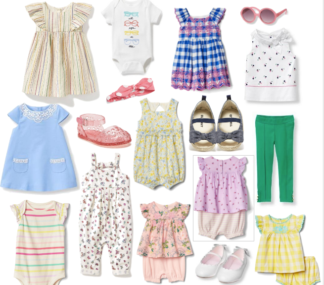 Spring clothing for little girls handpicked by mom and style blogger Brooke Williams of The Tony Townie