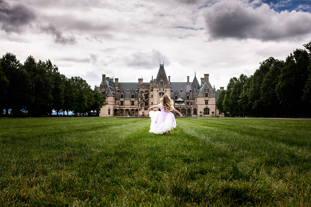 Valerie Eidson, Day Dream Photos, Asheville Family Photography, Biltmore Estate, Kids Photography, Magic of Childhood, Rapunzel Princess Dress