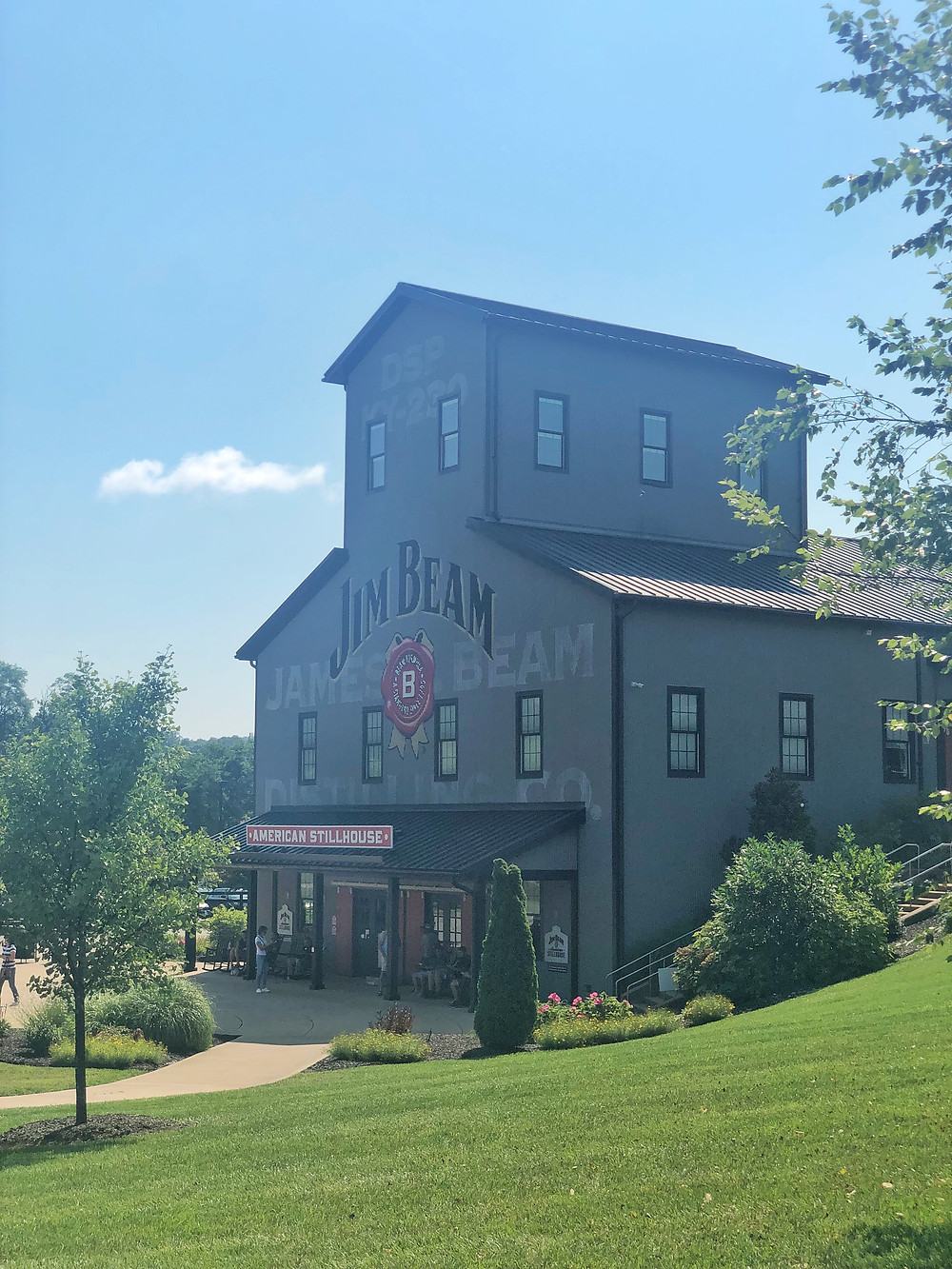 Jim Beam distillery gift shop in Clermont Kentucky, Bourbon Trail travel guide, travel blog, best distillery tour