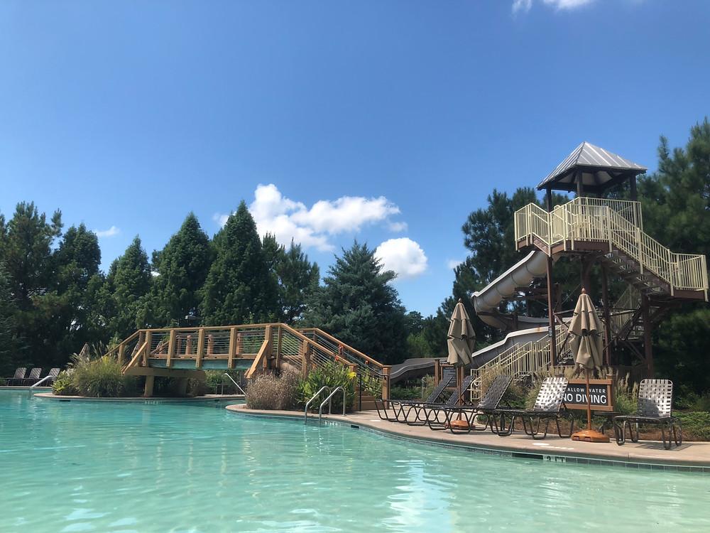 The Landing pool at Reynolds Plantation
