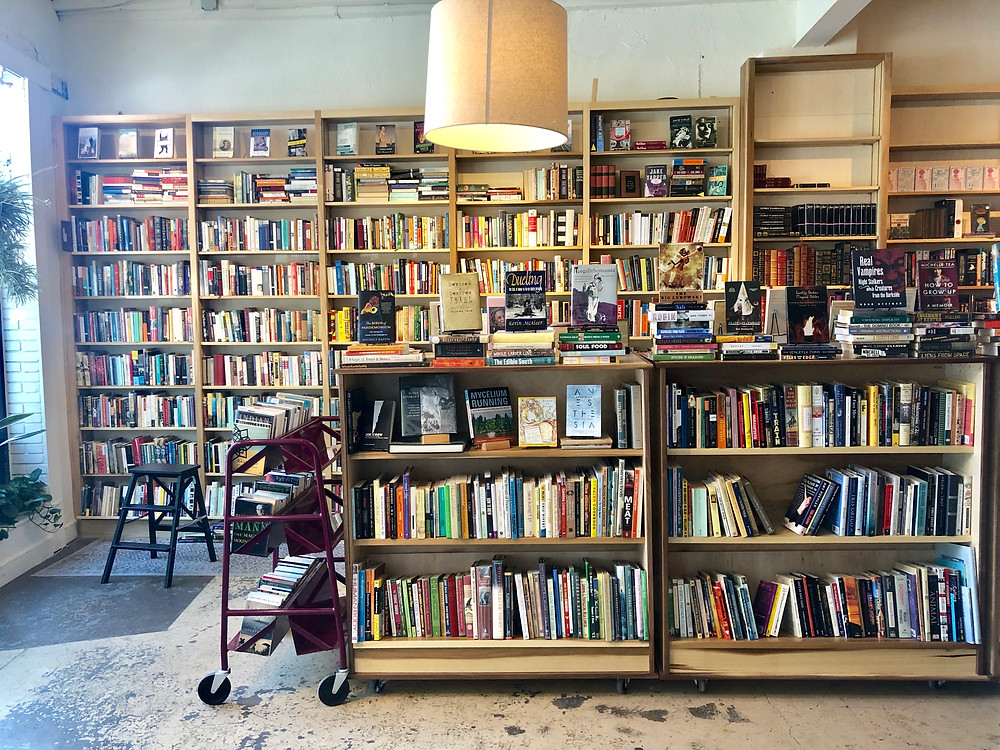 Bagatelle Books, used Book Store, West Asheville, Asheville's Hidden Gems, Best Local Restaurants and Breweries, Local Favorites, Asheville Lifestyle Blog, Travel Guide