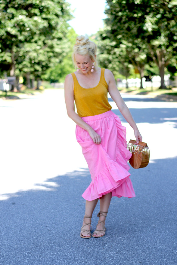 Current Fave: The Wrap Skirt