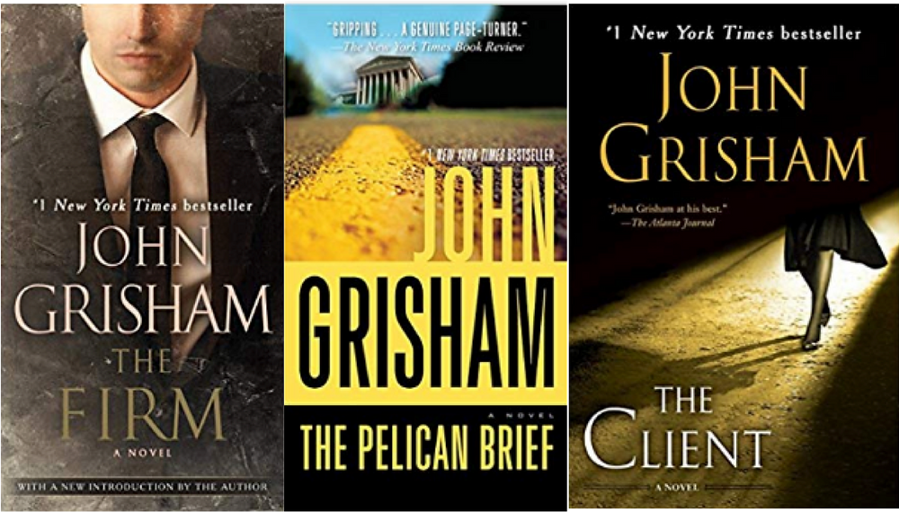 Best summer beach reads book list, legal thrillers, john grisham, the firm, the pelican brief, the client
