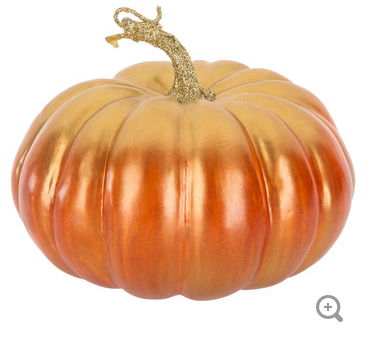Pumpkin Pick with Gold Stem