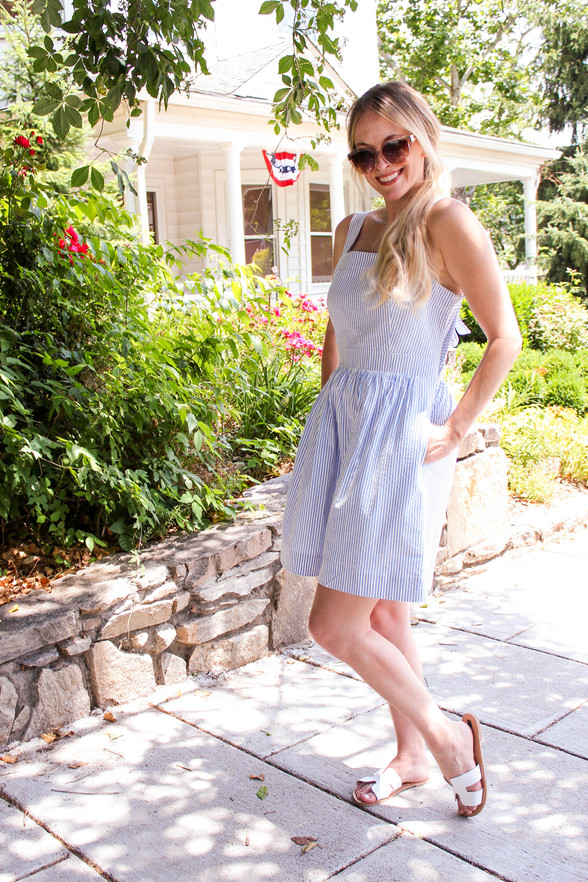 Fourth of July Outfit Ideas: Red, White, & Blue Dresses