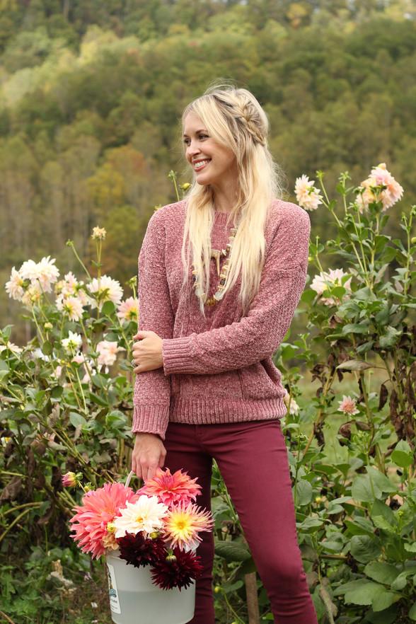 Prettiest Pink Sweaters Under $100