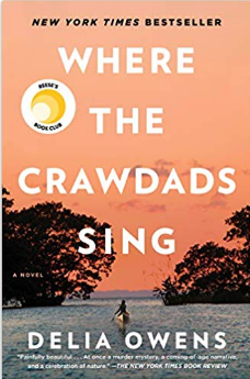 Book cover of Where the Crawdads Sing