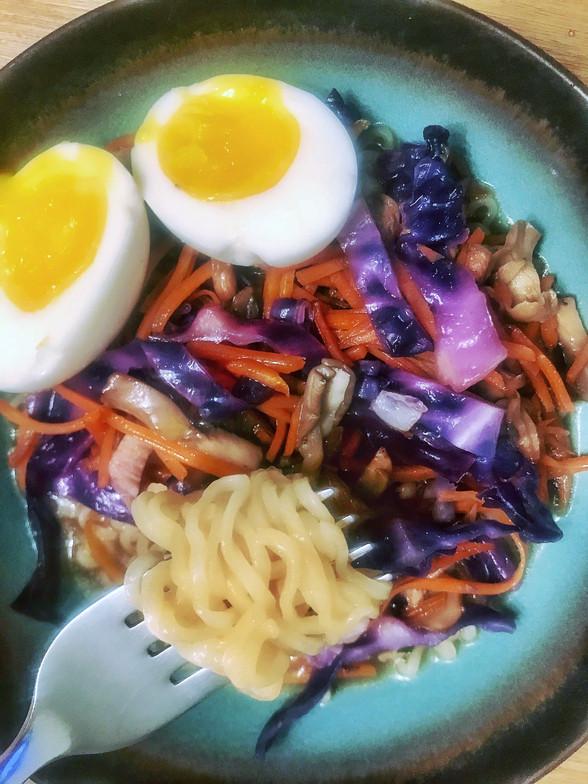 Quick & Easy Homemade Ramen Bowl
