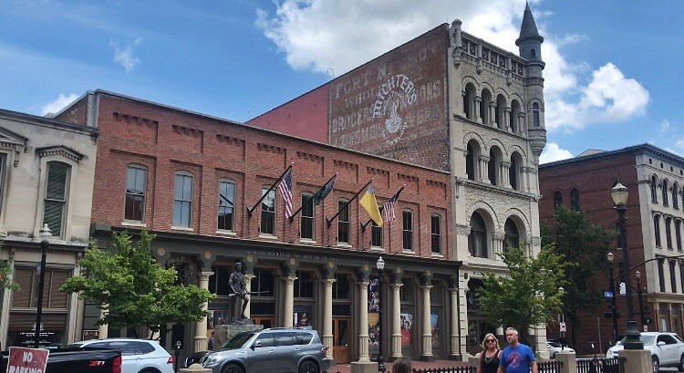 Michter's Fort Nelson distillery on Whiskey Row, Main street Louisville, Urban bourbon trail, Bourbon Trail travel guide, travel blog, best distillery tour