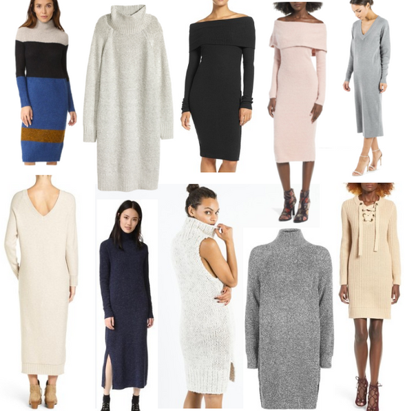 Shop Edit | Sweater Dresses
