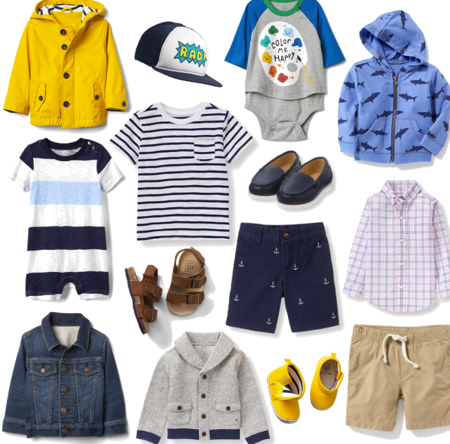 Spring clothing for little boys handpicked by mom and style blogger Brooke Williams of The Tony Townie