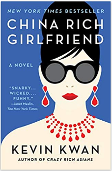 Book cover of China Rich Girlfriend