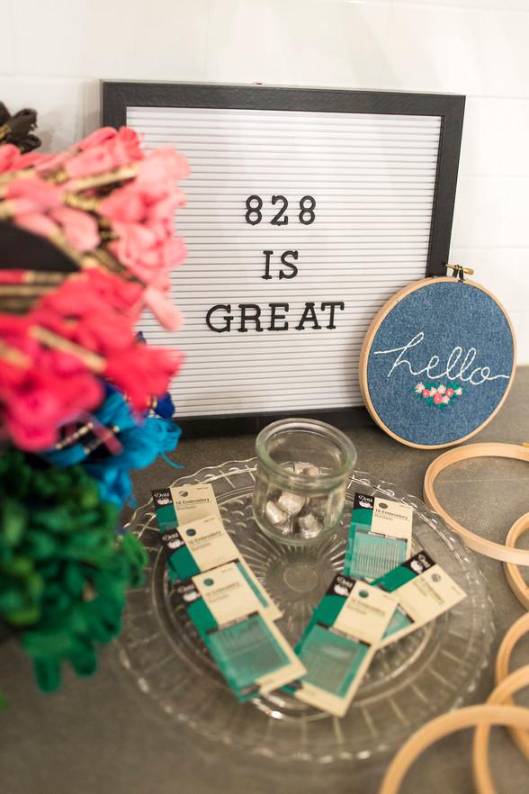 #AVL: Denim Embroidery Workshop @ Nest Boutique