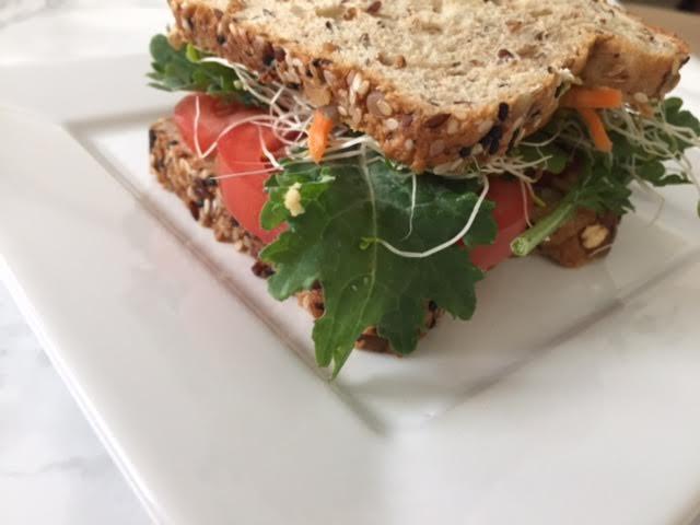 Veggie Sandwich Detail