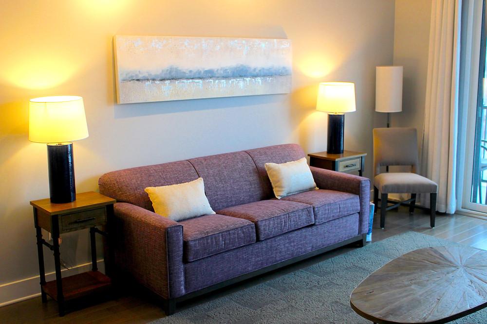 45 Asheland Avenue rental condo living room view