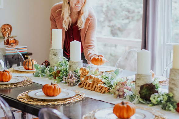 DIY Fall Centerpiece on a Budget