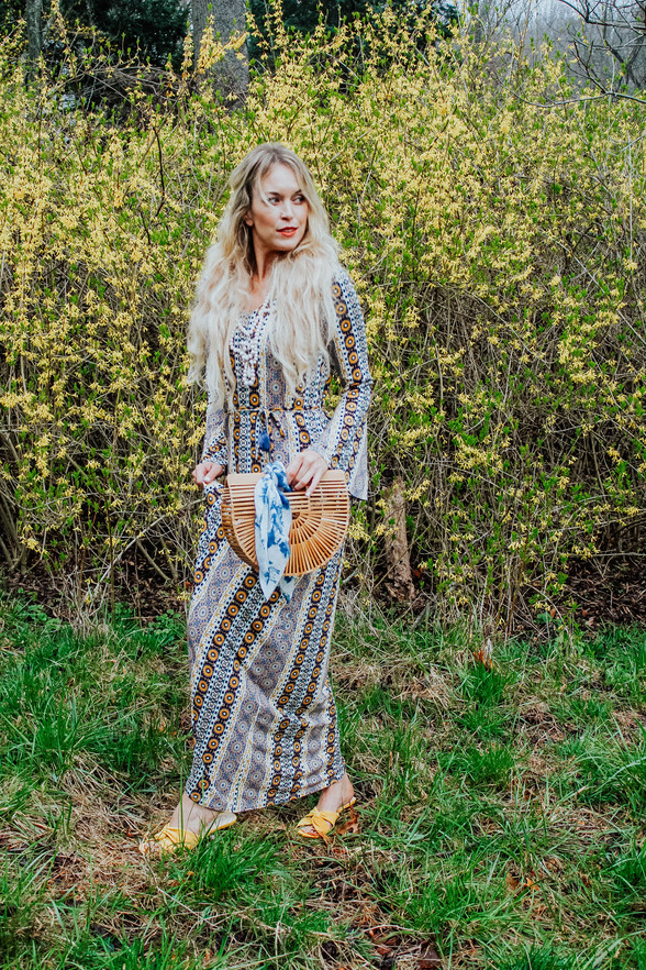 '70s Maxi Dress + 9 More Pretty Spring Dresses