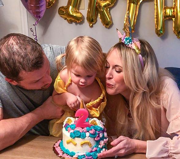 Harlow's Unicorn Birthday Party